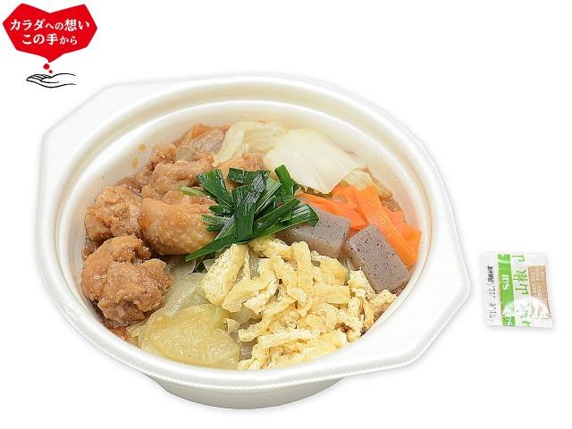 セブンイレブン たんぱく質が摂れる 鶏鍋 味噌味 発売★お値段やカロリーは?