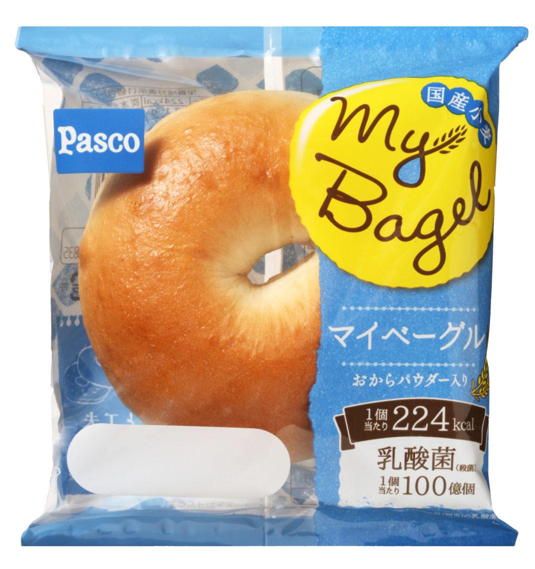 PascoのMy Bagelに新ベーグル登場★限定商品も!カロリーは?