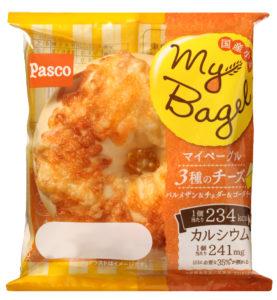 新商品1★「My Bagel 3種のチーズ」