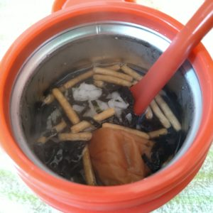 スープジャーでご飯を炊くことはできました。