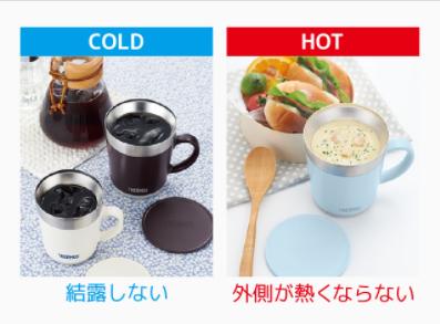 サーモスのマグカップを比較!冷保温時間などの違いや口コミも