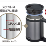 サーモスの保冷保温マグカップ JCP-280 の特徴や評判をレビュー