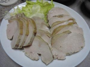 鶏ハムの簡単レシピ♪火を止めなくてもしっとり美味しい はなまるマーケット流