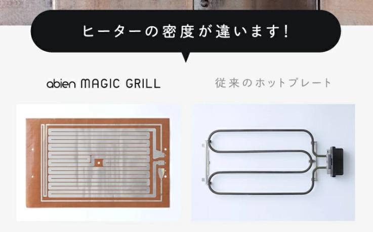アビエンのホットプレート abien MAGIC GRILL 口コミをレビュー♪家電量販店での販売が始まりました!
